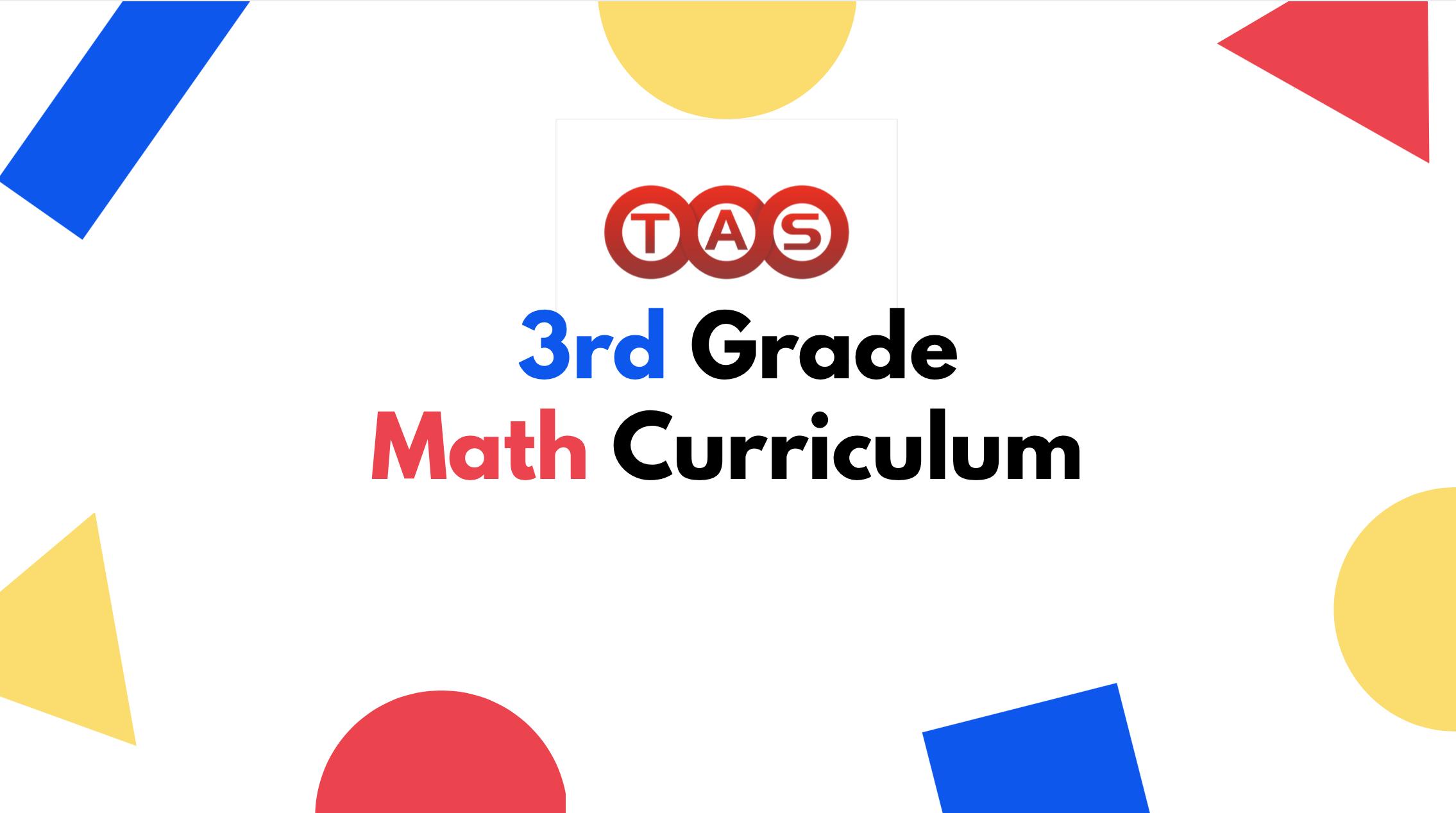 math 3 curriculum
