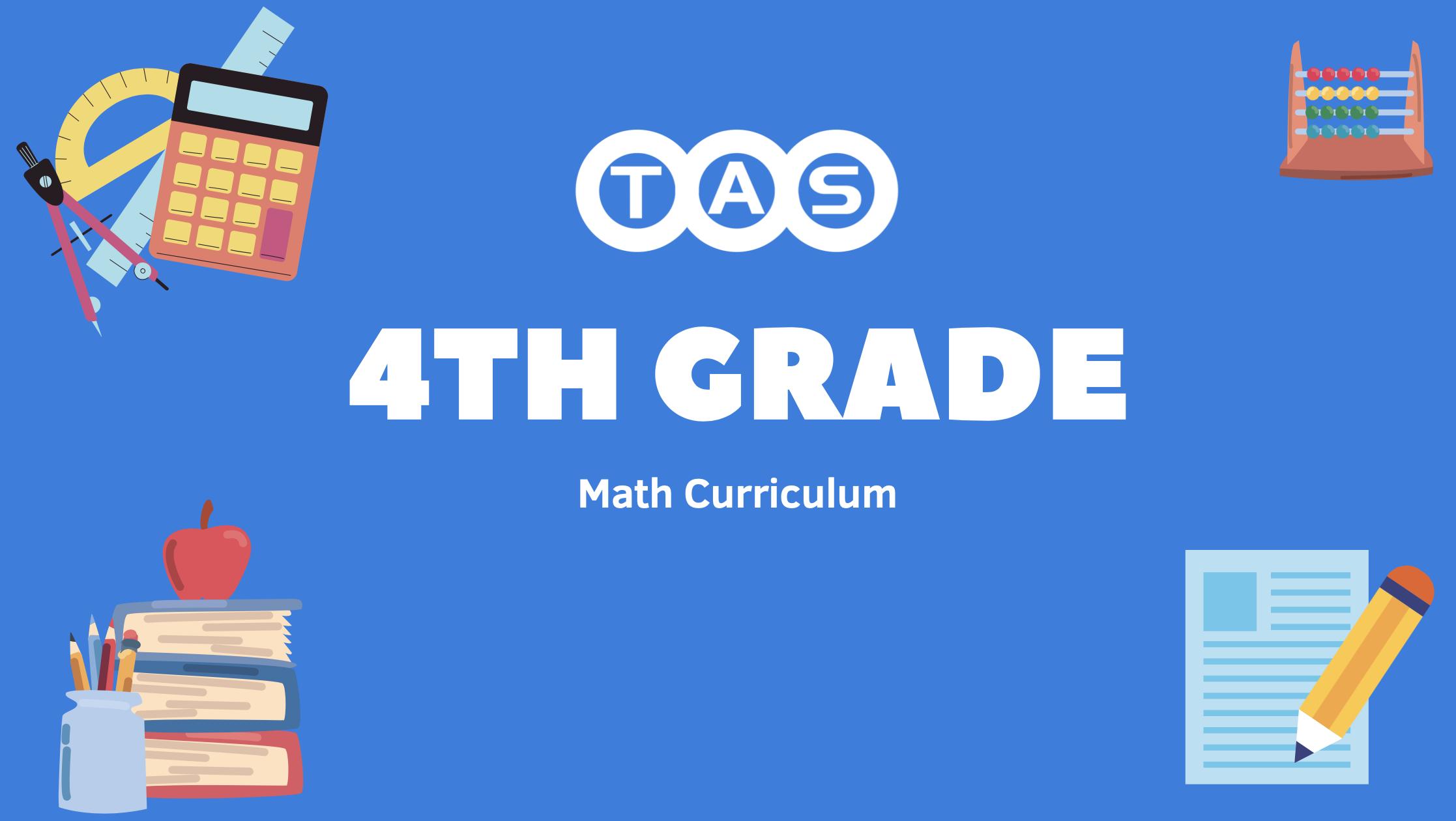 math 4 curriculum