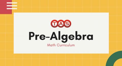 prealgebra curriculum
